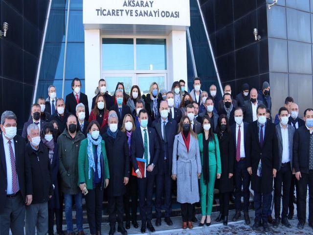 "KEMAL KILIÇDAROĞLU ""CHP'NİN 138 MİLLETVEKİLİ DE AKSARAY'INDIR"" DEDİ"