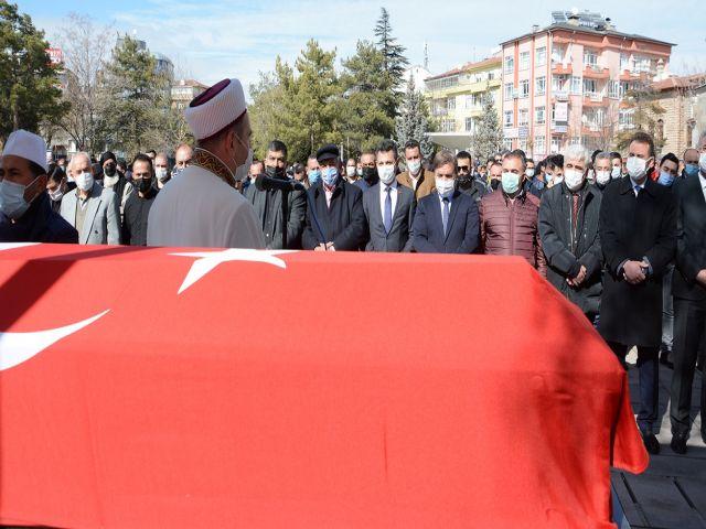 Aksaray'ın Sevilen Başkanı Ahmet Er Son Yolculuğuna Uğurlandı