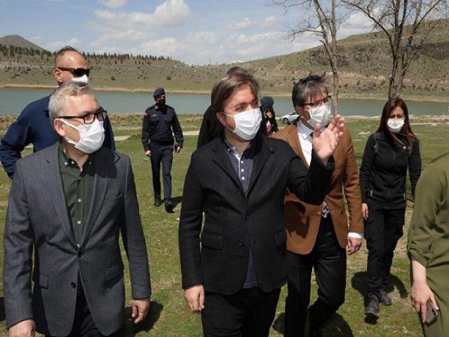 Kapadokya'nın kabine ortak dokunuş