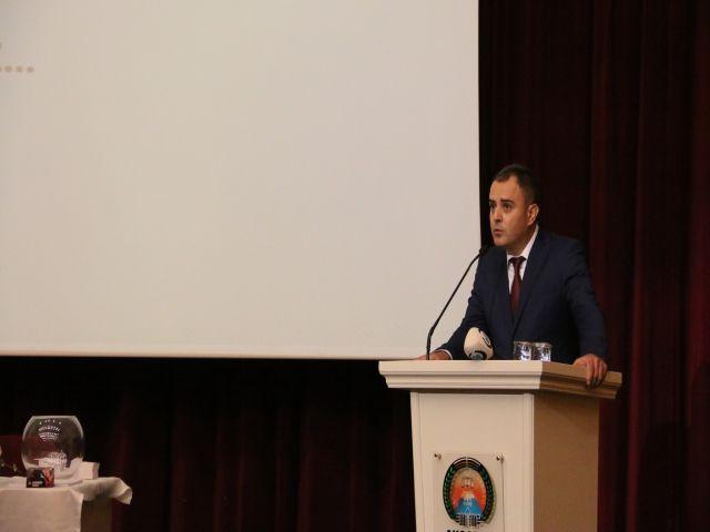"""AKSARAY BAROSU """"TOPRAK'LA DEVAM"""" DEDİ"""