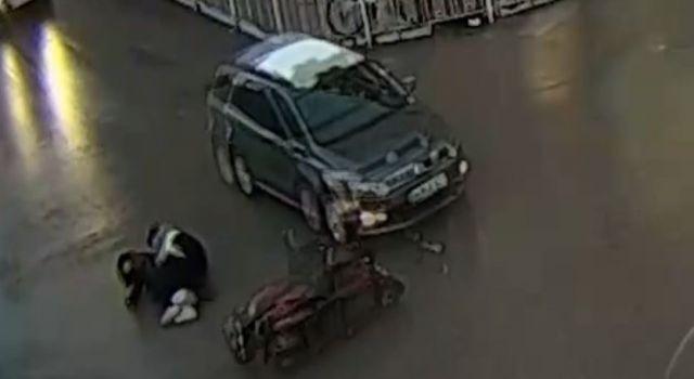 Aksaray'da yaşanan kazalar MOBESE kameralarında