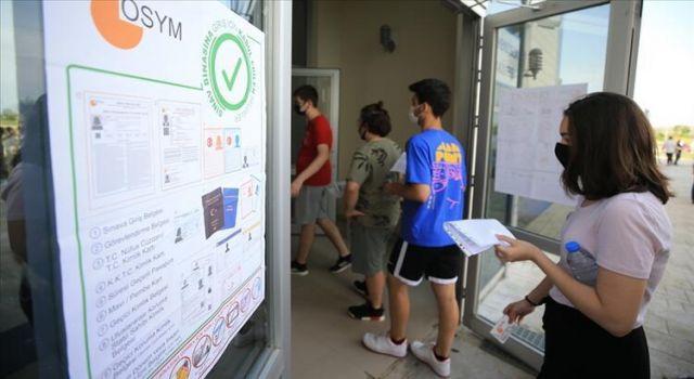 Öğrenciler AYT sınavının zorluğundan dert yandılar