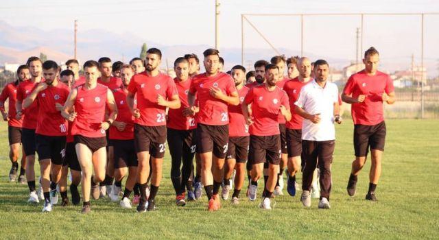 Aksarayspor Dağılgan'da antrenmanlara başladı