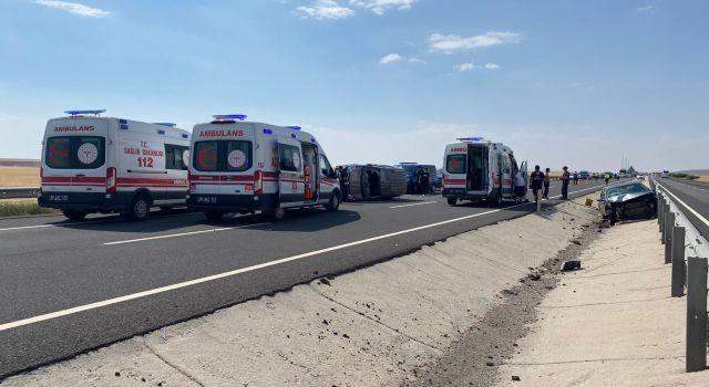 Aynı yolda ikinci kaza: 7 yaralı
