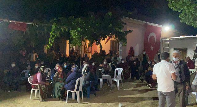Şehit Uzm. Çvş. Güçlüerin baba ocağına Türk bayrağı asıldı
