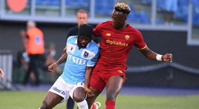 Trabzonspor Roma'dan çıkamadı