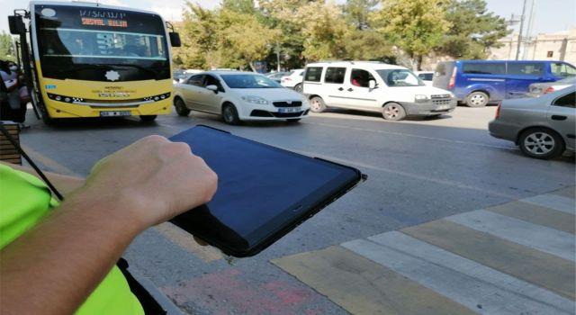 Yaya Geçitlerine Uymayan Sürücülere Ceza Yağdı