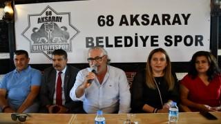 Aksarayspor'a bir dünya destek!