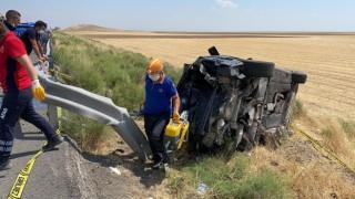 Ankara yolunda feci kaza: 2 ölü 4 yaralı