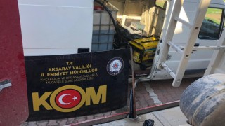 Bin 500 Litre Kaçak Akaryakıt Ele Geçirildi