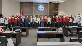Kuzeyboru Kadın Voleybol Takımı ATSO'yu Ziyaret Etti
