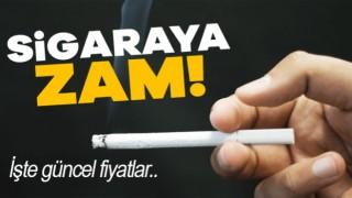 Sigaraya Zam Geldi, İşte Yeni Fiyatlar