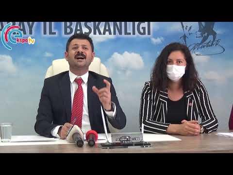 CHP İl Başkanı Ali Abbas Ertürk Asaray'da sağlık alanında yaşanan sorunları gündeme taşıdı